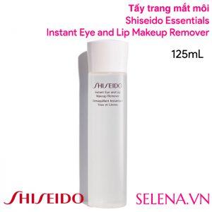 Tẩy trang mắt môi Shiseido Instant Eye And Lip Makeup Remover