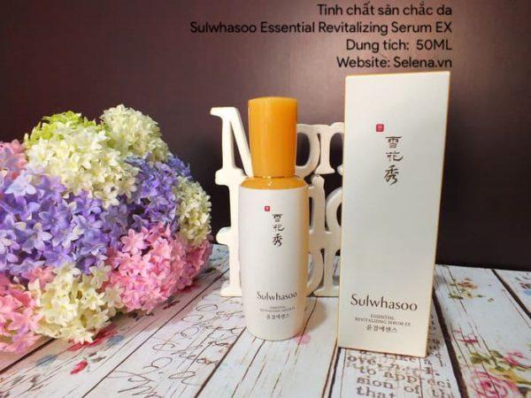 Tinh chất dưỡng da, săn chắc , đàn hồi nâng cơ da mặt Sulwhasoo Essential Revitalizing Serum EX