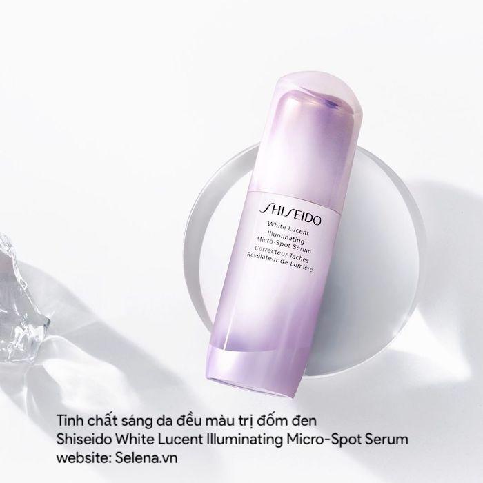 Tinh chất sáng da, đều màu, trị đốm đen, trị nám da Shiseido White Lucent Illuminating Micro-Spot Serum
