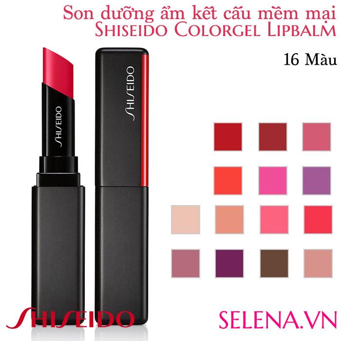Son dưỡng màu đẹp Shiseido Colorgel Lipbalm