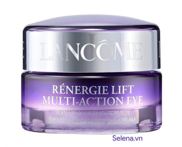 Kem dưỡng săn chắc da mắt Lancôme Rénergie Lift Multi-Action Eye Cream nâng da vùng mắt, xoá mờ các nếp nhăn, giảm quầng thâm, bọng mắt, dưỡng ẩm, làm sáng