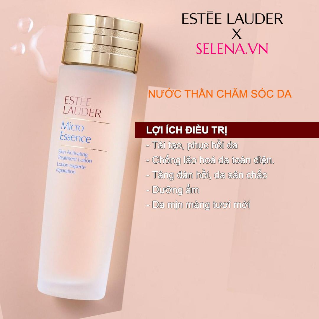 Nước thần tinh chất vi mô dưỡng da Estée Lauder Micro Essence