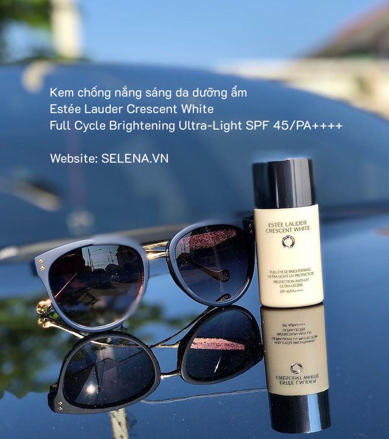 Kem chống nắng sáng da dưỡng ẩm chỉ số chống nắng cực cao SPF 45/PA++++.