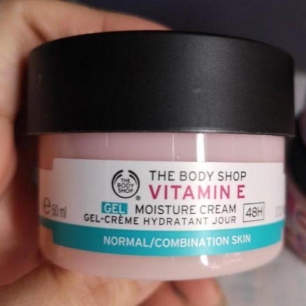 Kem dưỡng ẩm The Body Shop Vitamin E gel moisture cream