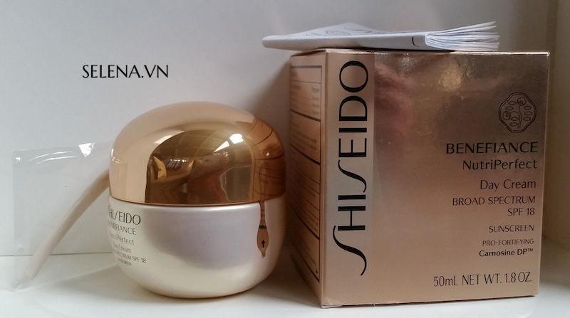Kem dưỡng da Shiseido Benefiance tăng cường chống lão hoá da, giảm nhăn da, xoá nhăn, dưỡng ẩm da, ngăn ngừa đồi mồi da, làm đồng đều màu da