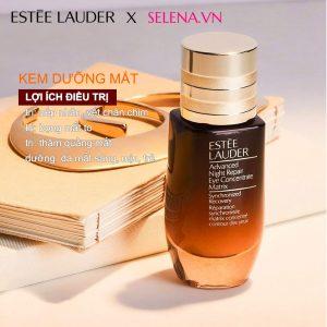 Dưỡng da mắt Estee Lauder Advanced Night Repair Eye Matrix đặc trị bọng mắt, thâm quầng mắt, nhăn da mắt cho da mắt tươi trẻ đều màu.