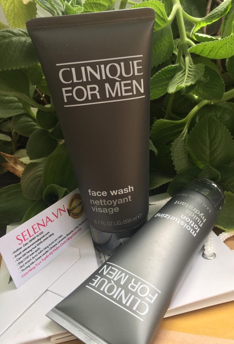 Bộ kem dưỡng và sửa rửa mặt Nam Giới có da thường, da khô, da hỗn hợp khô và da nhạy cảm