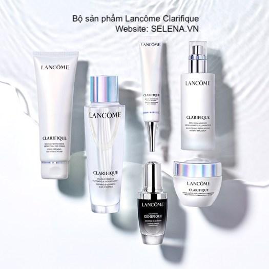 Bộ sản phẩm Lancôme Clarifique chuyên dưỡng sáng da, ngăn ngừa thâm nám, trị nám da, trị đồi mồi, đồng đều màu da