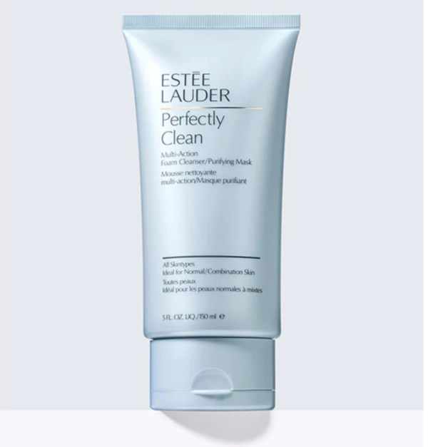 Sữa rửa mặt/ Mặt nạ thanh lọc Estee Lauder Perfectly Clean Multi-Action Foam Cleanser/Purifying Mask
