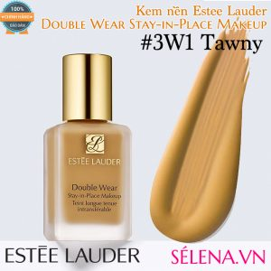 Kem nền Estee Lauder Double Wear Stay-in-Place Makeup #3W1 Tawny