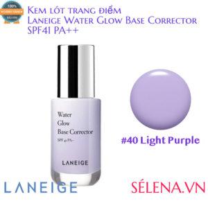 Kem lót trang điểm Laneige Water Glow Base Corrector #40 Light Purple