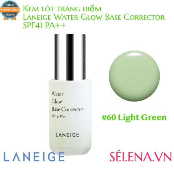 Kem lót trang điểm Laneige Water Glow Base Corrector #60 Light Green