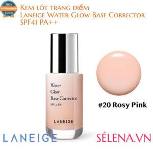 Kem lót trang điểm Laneige Water Glow Base Corrector #20 Rosy Pink