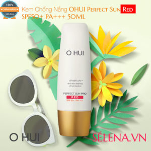 Kem Chống Nắng OHUI Perfect Sun Red SPF50+ PA+++ 50ML