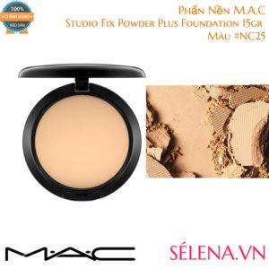 Phấn Nền M.A.C Studio Fix Powder Plus Foundation 15gr #NC25