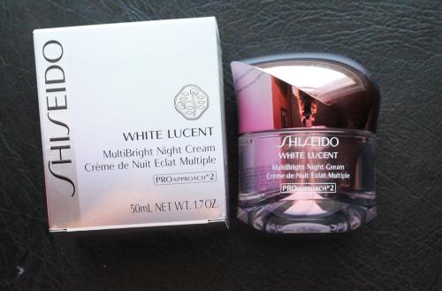 Kem dưỡng sáng da Shiseido White Lucent MultiBright Night Cream 50ml