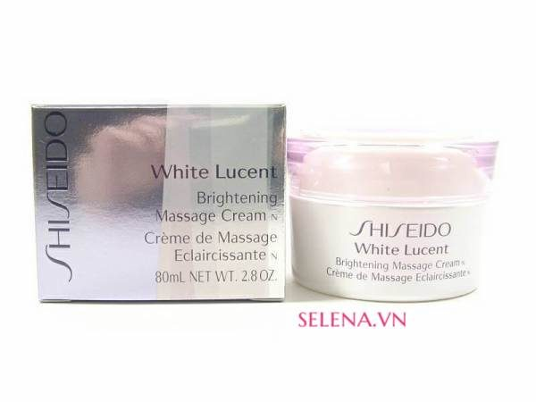 Kem massage Shiseido White Lucent Brightening Massage Cream N 80ml