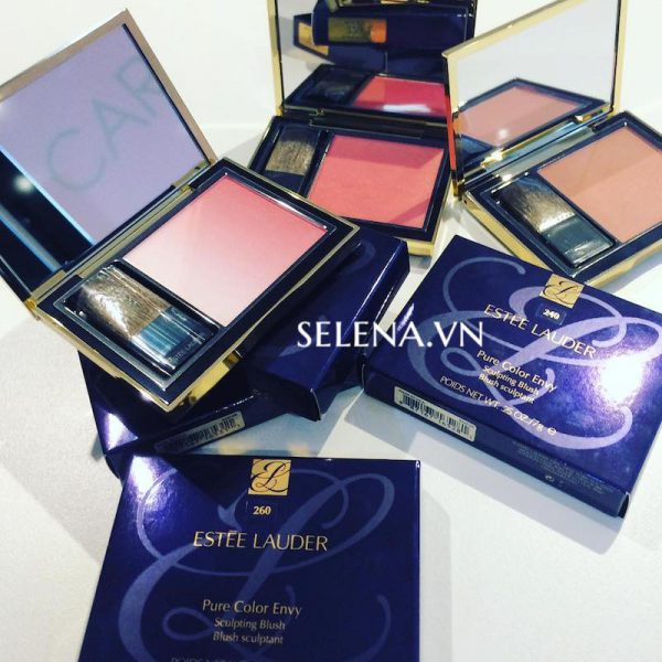 Phấn má Estee Lauder pure colour envy sculpting blush #260 Plush Petal