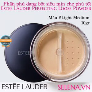 Phấn phủ bột Estée Lauder Perfecting Loose Powder #Light Medium