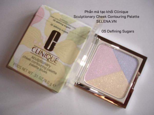 Phấn má tạo khối Clinique Sculptionary Cheek Contouring Palette 05 Defining Sugars