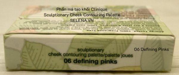 Phấn má tạo khối Clinique Sculptionary Cheek Contouring Palette 06 Defining Pinks2