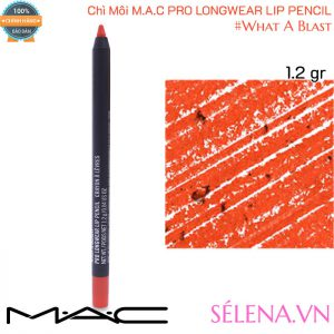 Chì Môi Mac Pro Longwear Lip Pencil 1.2g màu #What A Blast
