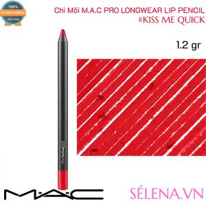 Chì Môi Mac Pro Longwear Lip Pencil 1.2g màu #Kiss Me Quick