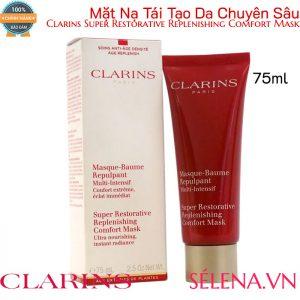 Mặt nạ tái tạo Clarins Super Restorative Replenishing Comfort Mask 75ml