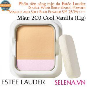 Phấn Nền Estée Lauder Double Wear Brightening Powder #2C0 Cool Vanilla