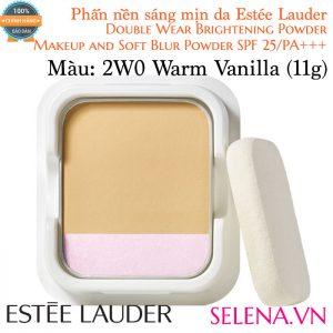 Phấn Nền Estée Lauder Double Wear Brightening Powder #2W0 Warm Vanilla