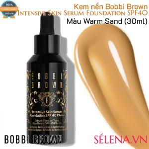 Kem nền Bobbi Brown Intensive Skin Serum Foundation SPF40- Màu Warm Sand