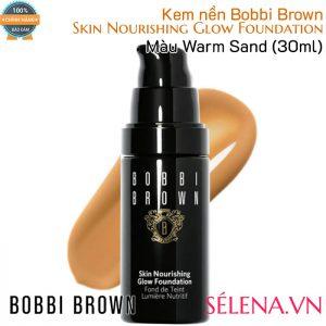 Kem nền Bobbi Brown Skin Nourishing Glow Foundation- Màu Warm Sand
