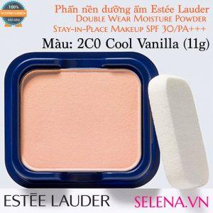 Phấn nền dưỡng ẩm Estée Lauder Double Wear Moisture Powder #2C0 Cool Vanilla