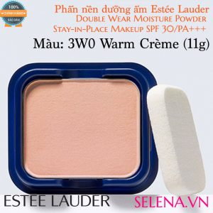 Phấn nền dưỡng ẩm Estée Lauder Double Wear Moisture Powder #3W0 Warm Crème