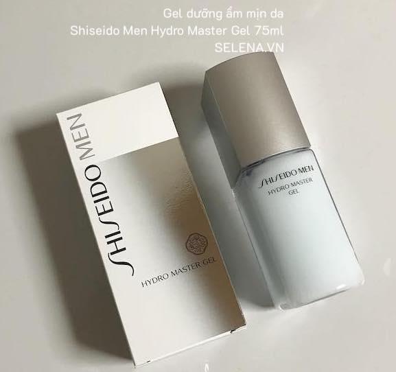 Gel dưỡng ẩm mịn da Shiseido Men Hydro Master Gel 75ml
