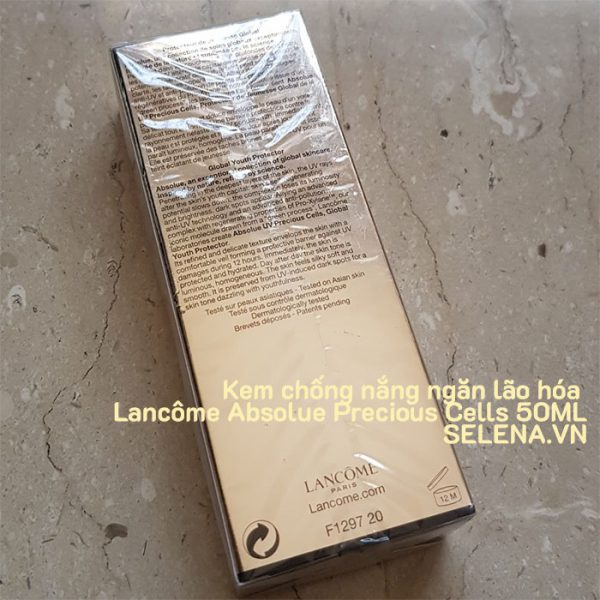 Kem chống nắng ngăn lão hóa Lancôme Absolue Precious Cells 50ML
