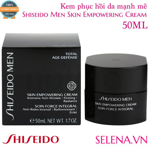 Kem phục hồi da mạnh mẽ Shiseido Men Skin Empowering Cream 50ml