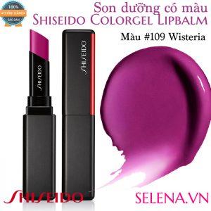 Son dưỡng màu đẹp Shiseido Colorgel Lipbalm #109 Wisteria