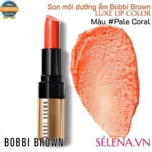 Son môi dưỡng ẩm Bobbi Brown Luxe Lip Color #Pale Coral