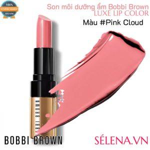 Son môi dưỡng ẩm Bobbi Brown Luxe Lip Color #Pink Cloud