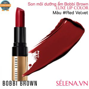 Son môi dưỡng ẩm Bobbi Brown Luxe Lip Color #Red Velvet