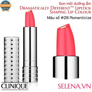 Son môi dưỡng ẩm Clinique Dramatically Different Lipstick #28 Romanticize