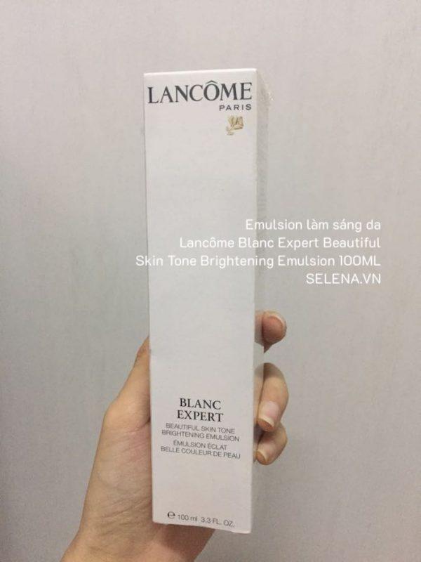 Emulsion làm sáng da Lancôme Blanc Expert Beautiful Skin Tone Brightening Emulsion 100ML