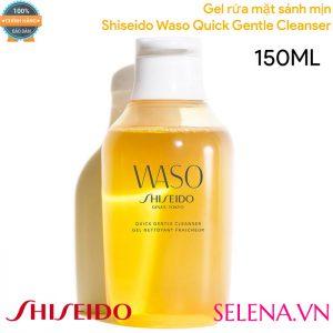 Gel rửa mặt sánh mịn Shiseido Waso Quick Gentle Cleanser 150ML