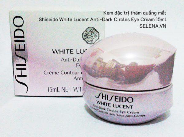 Kem đặc trị thâm quầng mắt Shiseido White Lucent Anti-Dark Circles Eye Cream 15mlKem đặc trị thâm quầng mắt Shiseido White Lucent Anti-Dark Circles Eye Cream 15ml