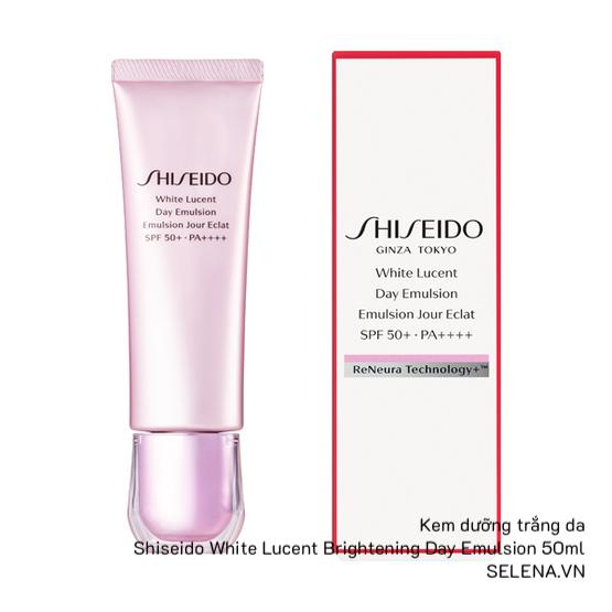 Kem dưỡng trắng da Shiseido White Lucent Brightening Day Emulsion 50ml