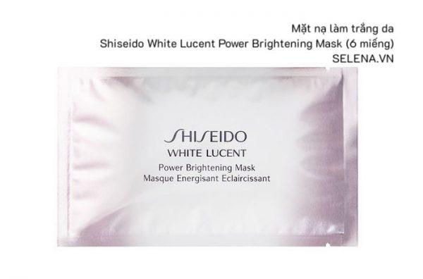 Mặt nạ làm trắng da Shiseido White Lucent Power Brightening Mask (6 miếng)