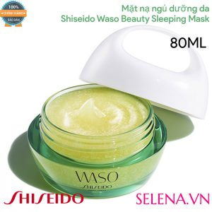 Mặt nạ ngủ dưỡng da Shiseido Waso Beauty Sleeping Mask 80ML