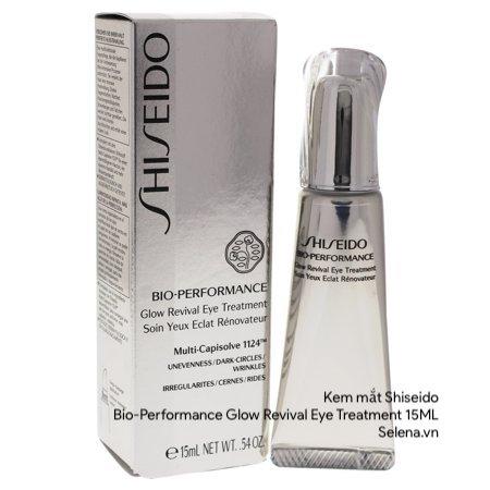 Kem Mắt Shiseido , Kem Mắt Shiseido Bio Performance Glow Revival Eye Treatment , Kem Chống Lão Hoá Mắt , Kem Trị Bọng Mắt , Kem Trị Thâm Quầng Mắt , Kem Trị NhKem Mắt Shiseido , Kem Mắt Shiseido Bio Performance Glow Revival Eye Treatment , Kem Chống Lão Hoá Mắt , Kem Trị Bọng Mắt , Kem Trị Thâm Quầng Mắt , Kem Trị Nhăn Đuôi Mắt