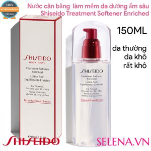 Nước cân bằng Shiseido Treatment Softener Enriched 150ml